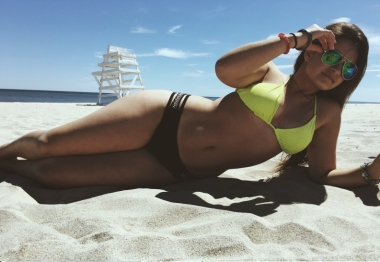 Noelle in a bikini
