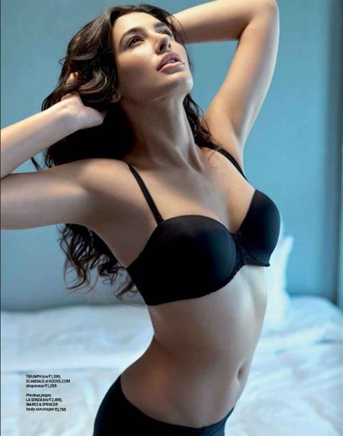 Nargis Fakhri in lingerie