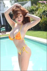 Tessa Fowler in a bikini