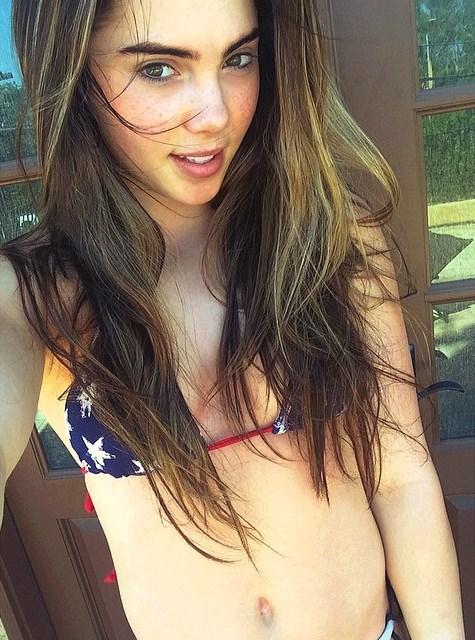 McKayla Maroney in a bikini
