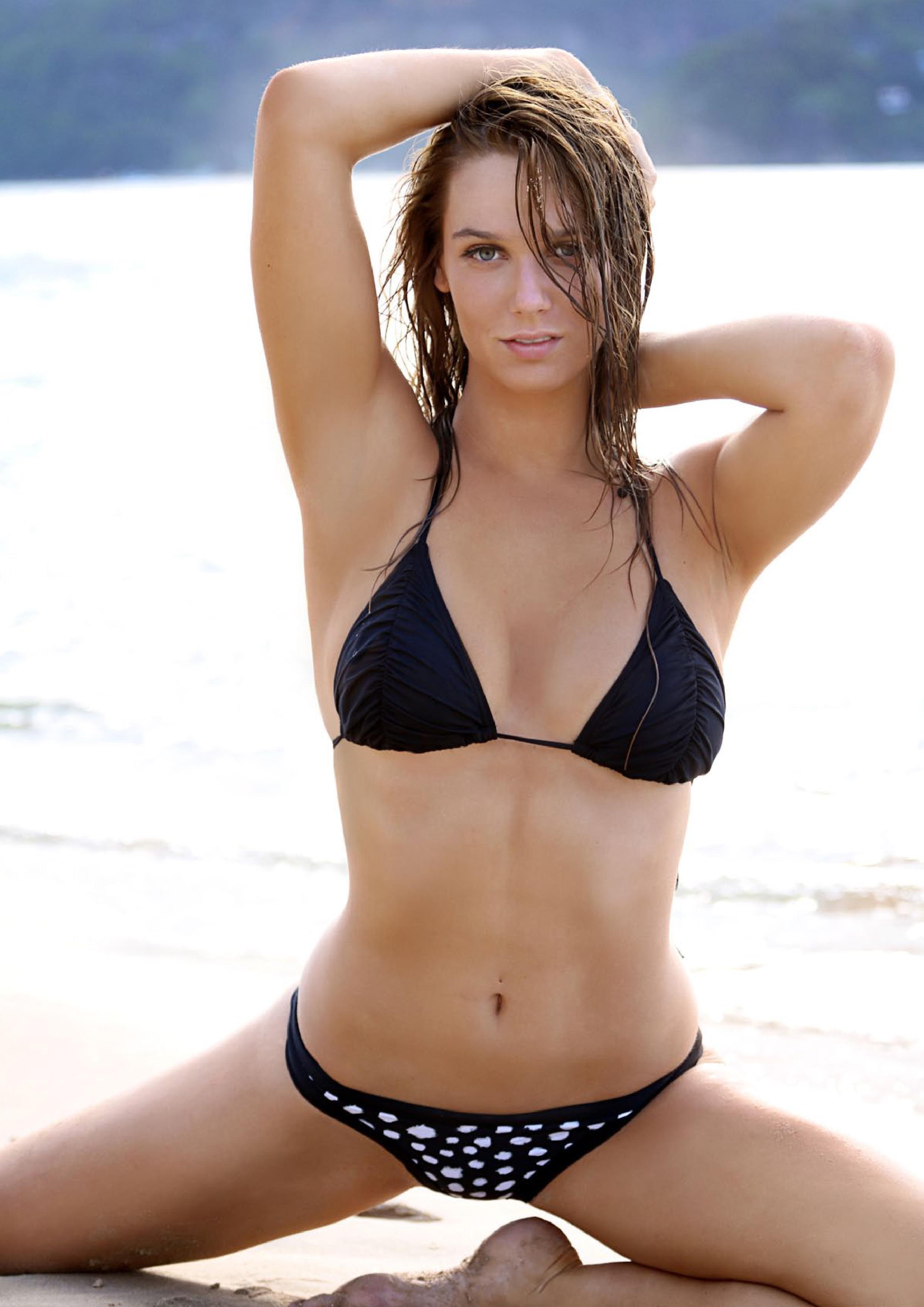 Regan Yerbury in a bikini