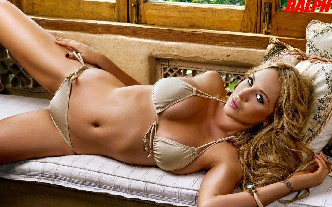 Emily scott blue bikini