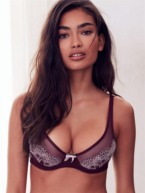 Kelly Gale in lingerie