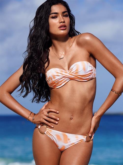 Kelly Gale in a bikini