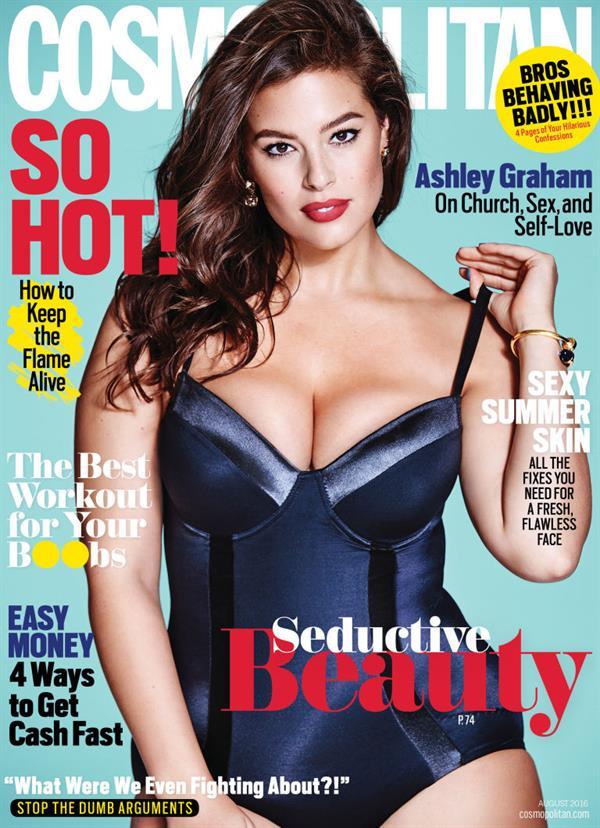 Ashley Graham Cosmopolitan Cover