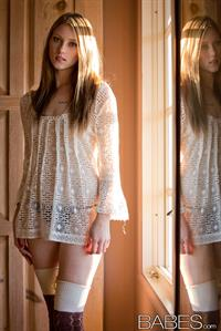 Shae Snow in lingerie