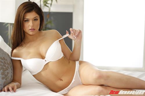 Leah Gotti in lingerie