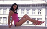 Yasmyne Fitzgerald in lingerie