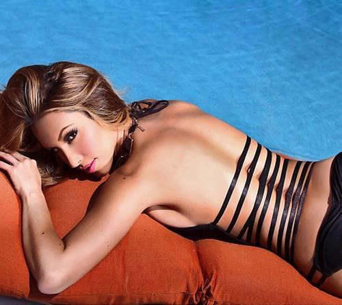 Alexia Cortez in a bikini