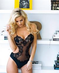 Leanna Bartlett in lingerie