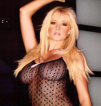 Michelle Marsh in lingerie - breasts