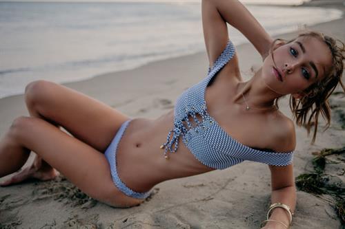 Rachel Cook in a bikini