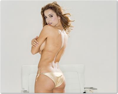 Shana Hiatt in lingerie - ass