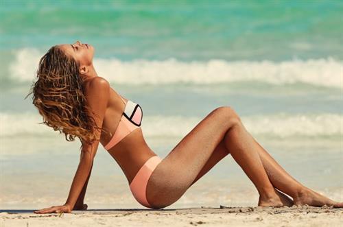 Tanya Mityushina in a bikini