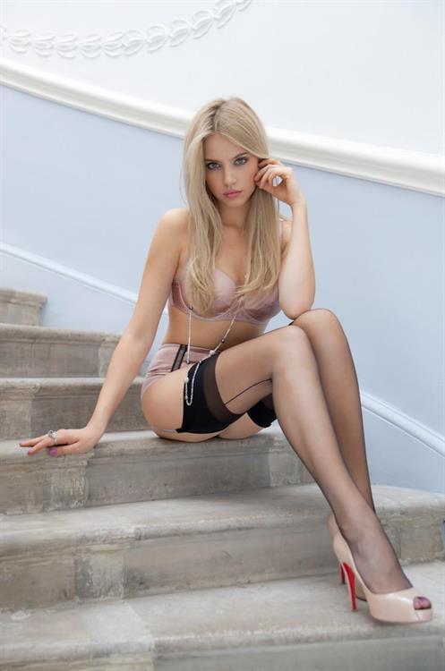 High heeled woman in bondage