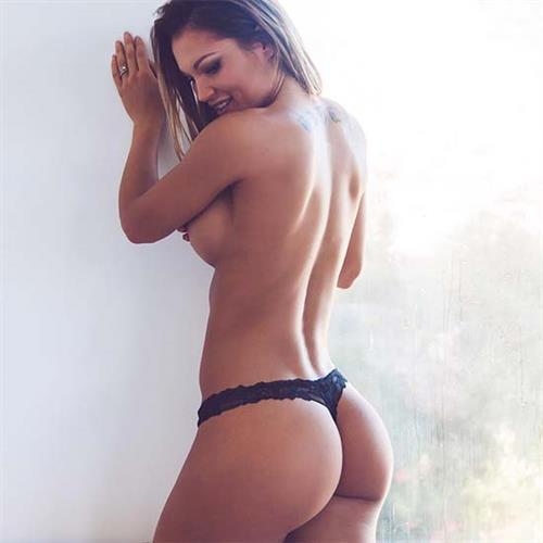 Julia Gilas in lingerie - ass
