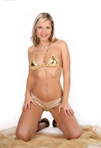 Jenni Kohoutova in a bikini