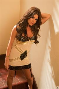 Tishara Lee Cousino in lingerie