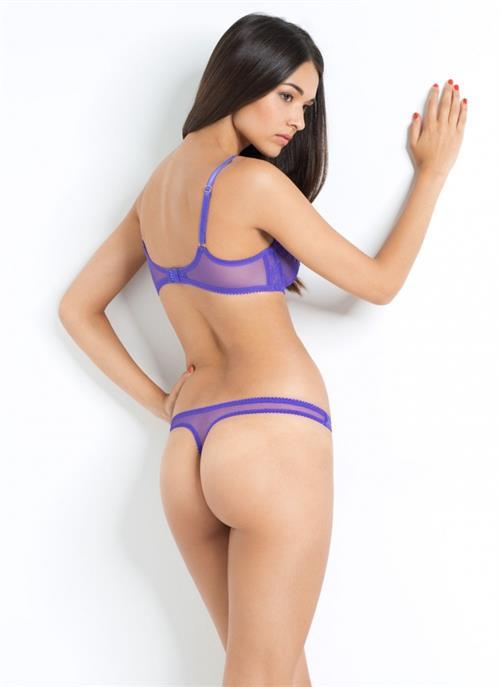 Anelia Moor in lingerie - ass