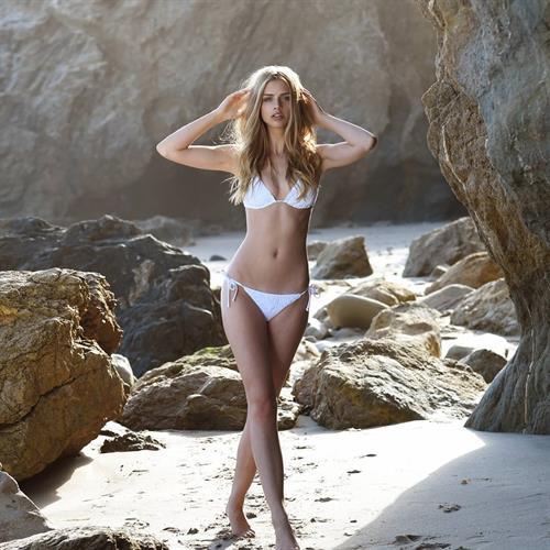 Marina Laswick in a bikini