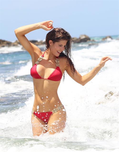 Amanda Cerny in a bikini