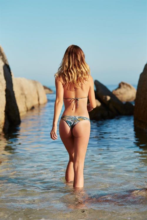 Annie Ericson in a bikini - ass