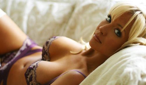 Mandy Ashford in lingerie