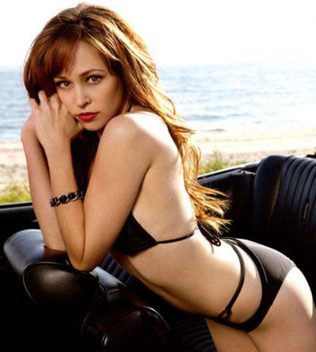 Autumn Reeser in a bikini