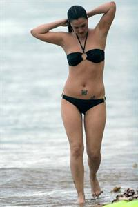 Drew Barrymore in a bikini