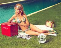 Heide Lindgren in a bikini