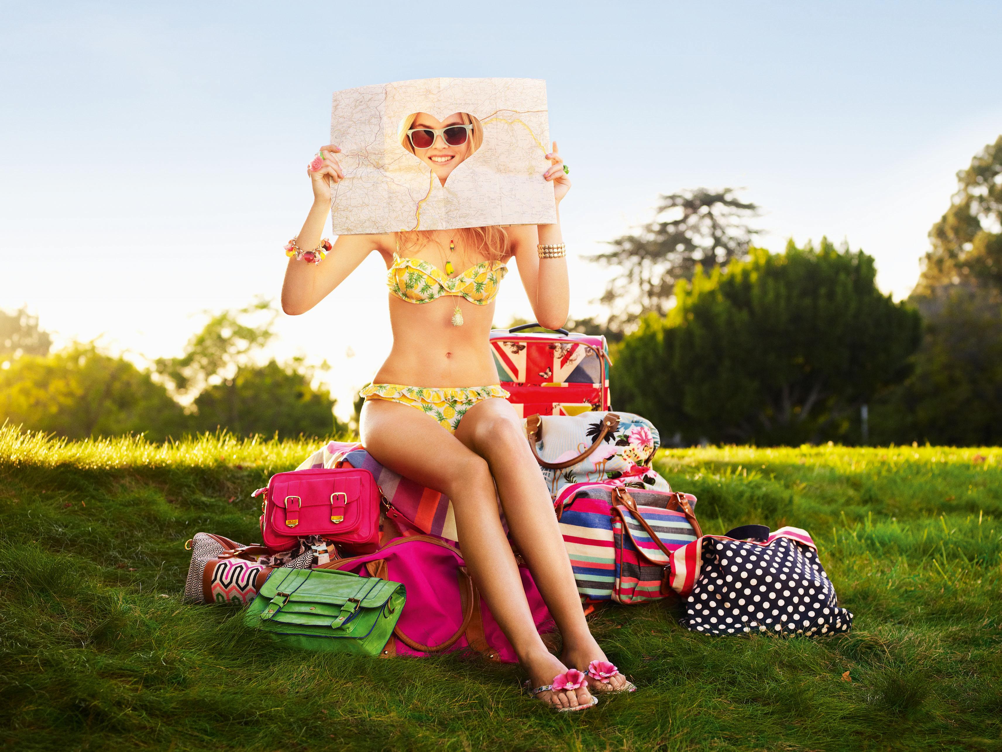 Malene Knudsen in a bikini