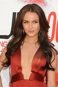 Camilla Luddington attends True Blood Season 5 premiere in Los Angeles on May 30, 2012