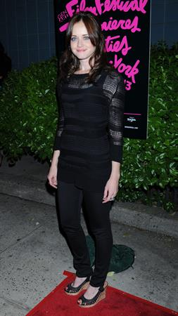 Alexis Bledel at the screening of Elektra Luxx on September 4, 2010