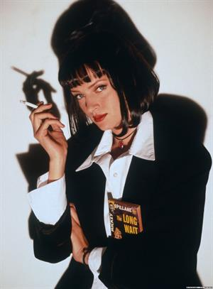 Uma Thurman in Pulp Fiction