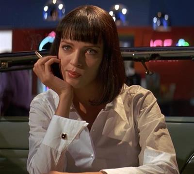 Uma Thurman in Pulp Fiction