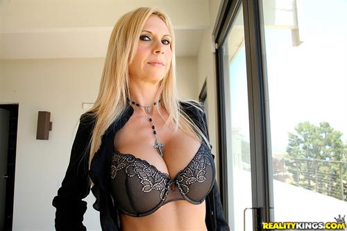 Brooke Tyler in lingerie