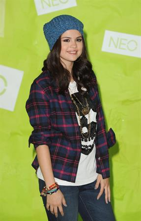 Selena Gomez Adidas NEO news conference in Los Angeles 11/20/12