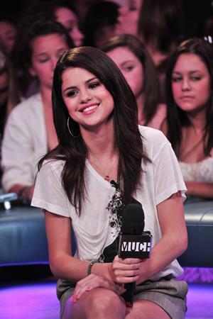 Selena Gomez visits New Music Live, August 24, 2011