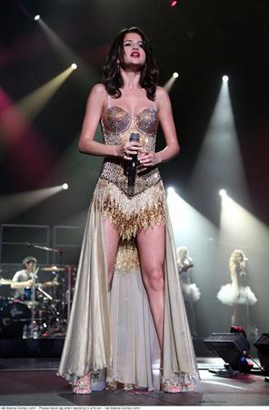 Selena Gomez performing at the 1st Bank Center Denver, September 4, 2011