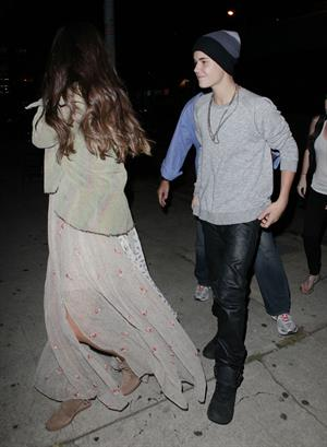Selena Gomez arriving to a show in West Hollywood, California - August 25, 2012