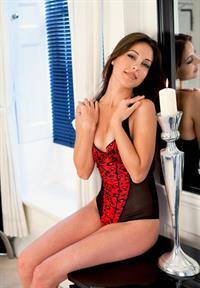 Lorena Garcia in lingerie
