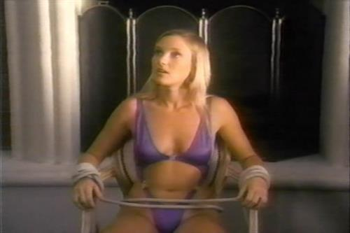 Roxanne Blaze in a bikini