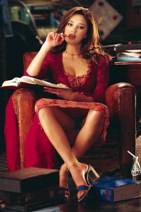 Brooke Berry in lingerie