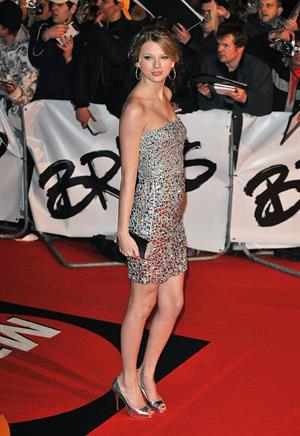 Taylor Swift 2009 Brit Awards in London