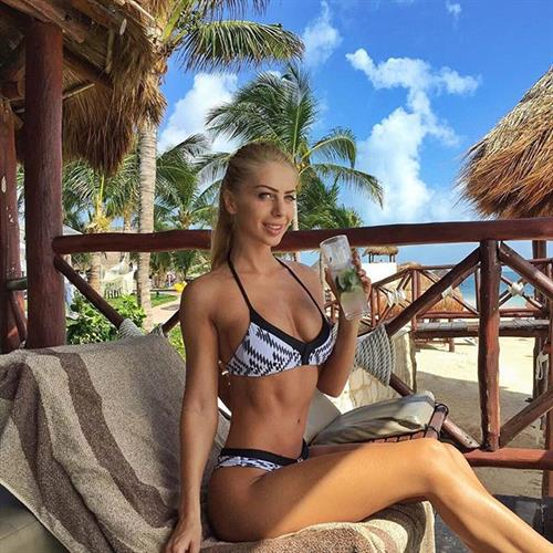 Yanita Yancheva in a bikini