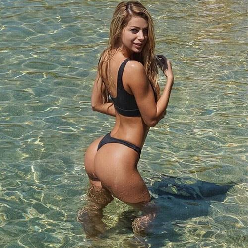 Yanita Yancheva in a bikini - ass