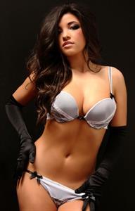 Amanda Kay in lingerie