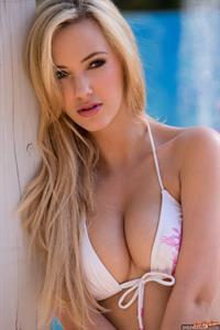 Sophia Knight in a bikini