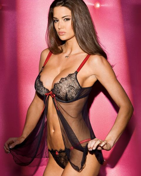 Tiffany Taylor in lingerie