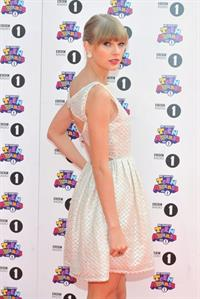 Taylor Swift BBC Radio 1 Teen Awards in London - 10/07/12